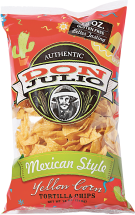 Don Julio 18 oz. Mexican or Southwest Style Tortilla Chips product image.