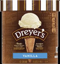 Haagen Dazs 3 ct. Novelties or 14 oz. Ice Cream or Dreyer's 48 oz. Select Varieties Ice Cream product image.
