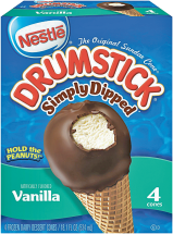 Nestle 4 ct. Select Varieties Drumsticks product image.