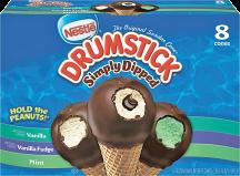 Nestle 8 - 12 ct. Select Varieties Drumsticks product image.