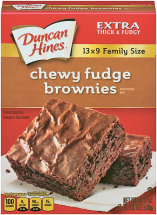 Duncan Hines 15.25-18.3 oz.Select Varieties Brownie or Cake Mix product image.