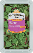 Earthbound 5 oz Select Varieties Organic Salads product image.