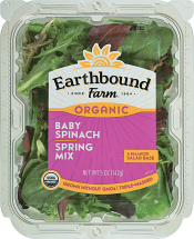 Earthbound 5 oz.Select Varieties Salad Mix product image.