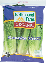 Organic Romaine Hearts product image.