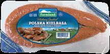 Farmland 13 oz. Smoked or Polska Kielbasa Sausage product image.