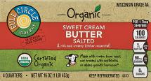 Full Circle 1 lb. Organic Butter product image.