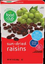 Raisins product image.