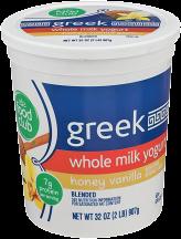 Greek Yogurt product image.