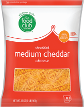Medium Cheddar Cheese product image.