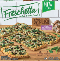 Freschetta 12 Inch Select Varieties Frozen Pizzas product image.