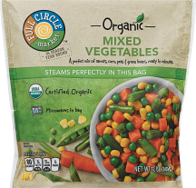 Full Circle 12 oz. Organic Vegetables product image.