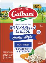 Mozzarella product image.