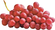 Red Seedless Grapes product image.