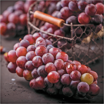 Grapes product image.