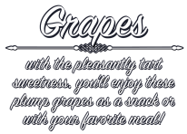 Seedless Grapes product image.