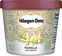 Haagen Daz 3.6 oz. Select Varieties Ice Cream Cups product image.