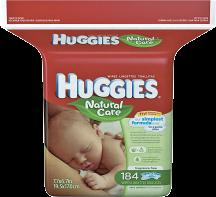 Huggies 168-240 ct. Select Varieties Baby Wipes product image.