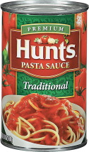 Hunt's or Chef Boyardee 14.75-24 oz. Select Varieties Canned Pasta, Ketchup or Pasta Sauce product image.