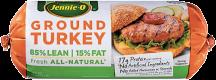 Jennie-O 1 lb.Select Varieties Ground Turkey product image.
