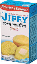 Jiffy 6.5-8.5 oz.Select Varieties Muffin Mix product image.