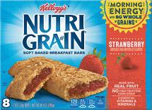 Kellogg's 8 ct. Select Varieties Nutri-Grain Bars product image.