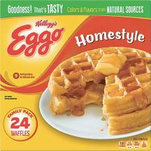 Eggo 24 ct. Select Varieties Waffles product image.