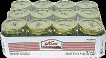 Half Pint jars product image.