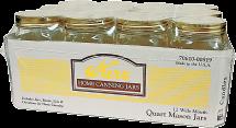 quart jars product image.
