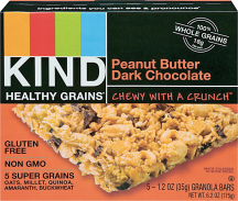 Kind Bars Healthy Grains or Breakfast product image.