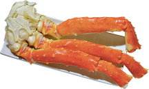 Large Red King Crab Legs product image.