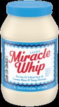 Kraft 30 oz. Select Varieties Miracle Whip product image.