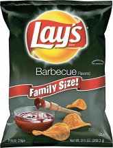 Lay's Family Size 9.5-10 oz. Select Varieties Chips product image.