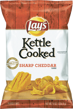 Lay's, Kettle, Cheetos or Fritos 5-9.25 oz. Select Varieties Chips product image.