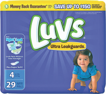 Luvs 21-48 ct. Select Varieties Diapers product image.