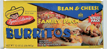 Lynn Wilson's 32 oz. Select Varieties Burritos product image.