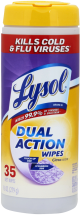 Lysol  35 ea. Select Varieties Wipes product image.