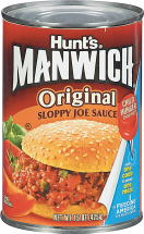 Rosarita, Rotel or Hunt's 10-16 oz. Select Varieties Manwich, Refried Beans or Tomatoes product image.