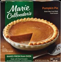 Marie Callender's 28-42 oz. Select Varieties Frozen Pies product image.