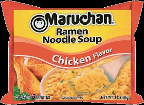 Maruchan 3 oz.Select Varieties Ramen Noodles product image.