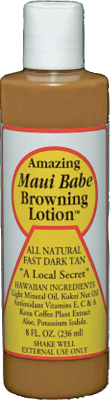 Maui Babe or Hawaiian Tropic 5.1-8 oz. Select Varieties Tanning Lotion product image.