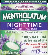 nighttime vaporizing rub product image.