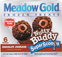 Meadow Gold 6 ct. Select Varieties Ice Cream product image.