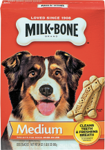 Milkbone 24 oz. Medium or Large Dog Biscuits product image.