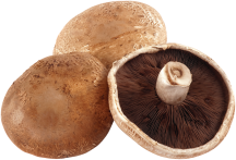 Portabella Mushrooms product image.