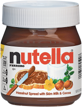 Western Family 16 oz. Honey or Nutella 13 oz. Hazelnut Spread product image.