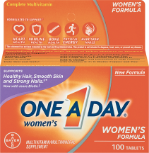 One A Day 50-100 ct. Vitamins and Supplements product image.