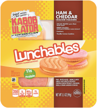 Oscar Mayer 3.2-4.4 oz. Select Varieties Lunchables product image.