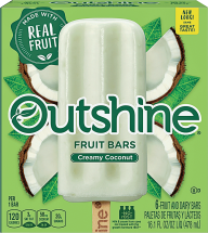 Nestle or Dreyers Outshine 14 oz. Non-Dairy Ice Cream or4-12 pk. Select Varieties Frozen Novelties product image.