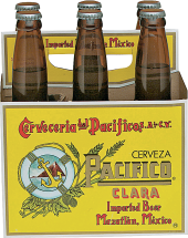 Pacifico Beer product image.