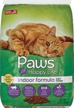 Paws Happy Life 16 lb. Cat Food product image.